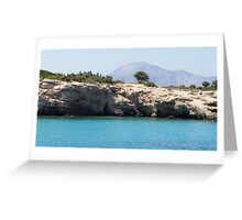 Hidden Greek Beauty Greeting Card
