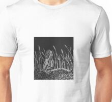 Girl in Cattails  Unisex T-Shirt