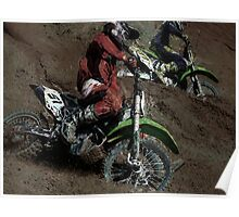 Turning Point - Motocross Racing Poster
