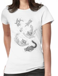 Cats Womens Fitted T-Shirt