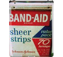 Band-Aid Box iPad Case/Skin