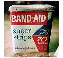 Band-Aid Box Poster