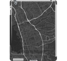 Chula Vista, USA Map. (White on black) iPad Case/Skin