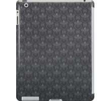 Dark floral background iPad Case/Skin