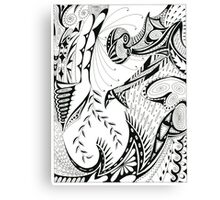 Pen & Ink Canvas Print