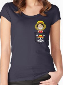Cheeky Pirate Women's Fitted Scoop T-Shirt