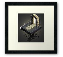 Dungeon Tile Monster Artwork Framed Print