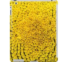 Sunflower macro in summer iPad Case/Skin