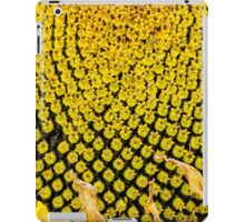 Yello Sunflower macro iPad Case/Skin
