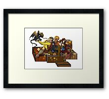 Adventurers Framed Print