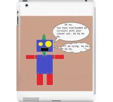 Sarcastic Robot iPad Case/Skin
