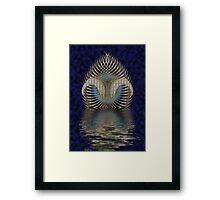 Up From The Ocean Framed Print