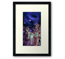 Heba and Atem Framed Print