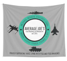 Average Joe's Scale models and miniatures PTSD vehicles Wall Tapestry