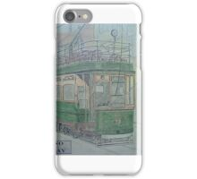 Llandudno and Colwyn Bay tramcar iPhone Case/Skin