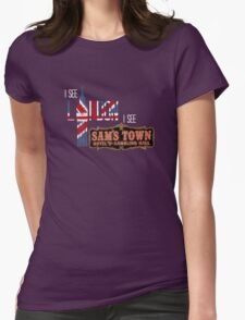 I see London, I see Sam's Town Womens Fitted T-Shirt