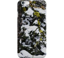 Colour in a Black and White Winter iPhone Case/Skin