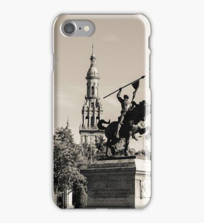 Seville - El Cid Monument  iPhone Case/Skin