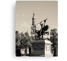 Seville - El Cid Monument  Canvas Print
