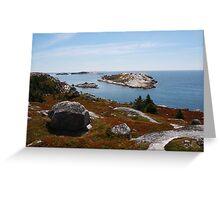 Fall on the Nova Scotia Coast Greeting Card