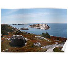 Fall on the Nova Scotia Coast Poster