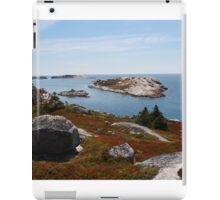 Fall on the Nova Scotia Coast iPad Case/Skin