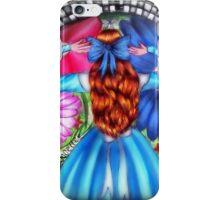 Alice In Wonderland Inspired Design iPhone Case/Skin