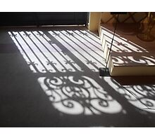 Ornate Shadows Photographic Print