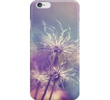 Pulsatilla vulgaris iPhone Case/Skin