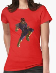 Falcon's Knee of Justice Womens Fitted T-Shirt