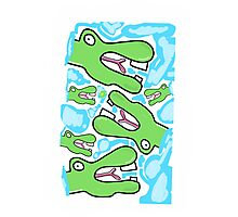 Crocodile dude Photographic Print