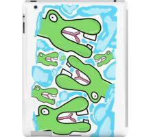 Crocodile dude iPad Case/Skin