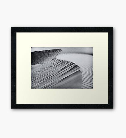 Ever shifting Framed Print
