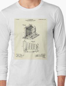 Folding Photographic Camera-1904 Long Sleeve T-Shirt
