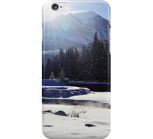 Steam in the Winter Sun iPhone Case/Skin