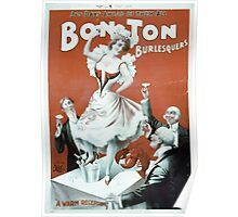 Performing Arts Posters Bon Ton Burlesquers 365 days ahead of them all 2755 Poster