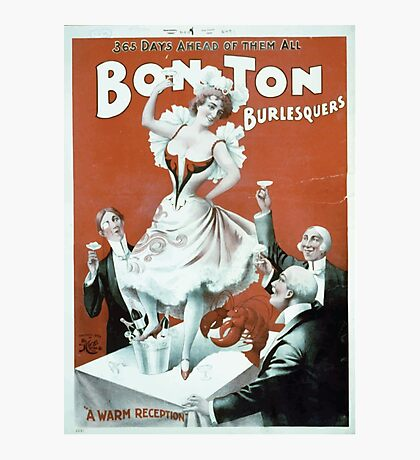 Performing Arts Posters Bon Ton Burlesquers 365 days ahead of them all 2755 Photographic Print