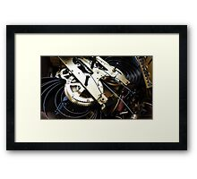 Clockwork Framed Print