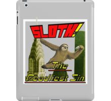 Sloth The Deadliest Sin 01 iPad Case/Skin