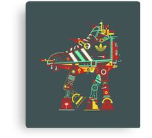 Robot Walker Canvas Print