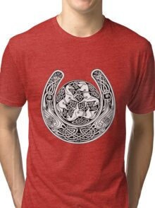 celtic horse 2 Tri-blend T-Shirt