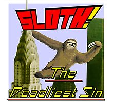 Sloth The Deadliest Sin 01 Photographic Print