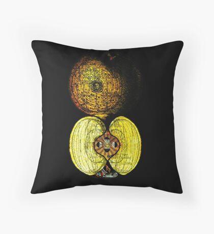 newton's infinite fruit of cosmic indolence Throw Pillow