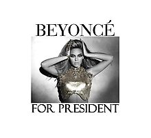 Vote for Bey Photographic Print