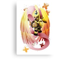 Warrior Series: Fluttershy Canvas Print