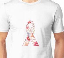 Pink ribbon vintage Unisex T-Shirt