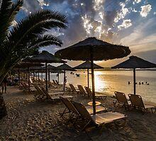 Greece lagoon beach Halkidiki Sithonia. by jordanrusev