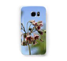 Allium siculum and bee Samsung Galaxy Case/Skin