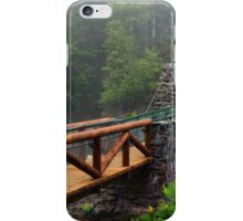 The Old Swinging Bridge Restored iPhone Case/Skin