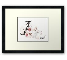 A Crown Of Thorns Framed Print